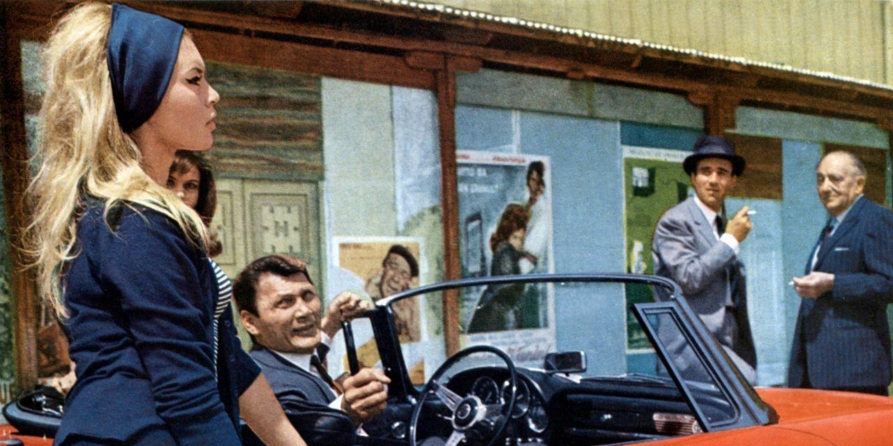 "Brigitte Bardot in ""Le Mepris"""