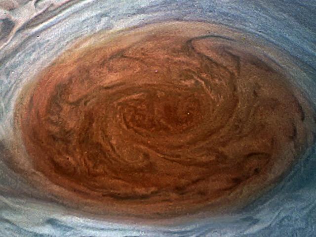 Der Rote Fleck auf dem Jupiter in bisher unerreichter Auflösung