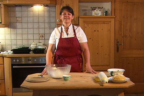 Anita Wieland in ihrer Küche
