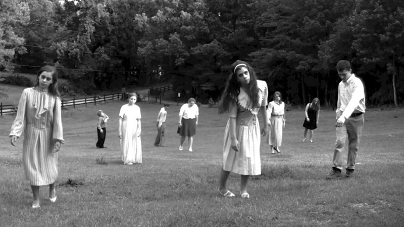 "Aus dem Film ""Night of the Living Dead"""