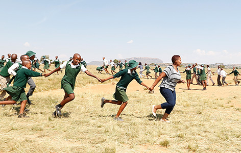 Aids-Waisenkinder in Lesotho