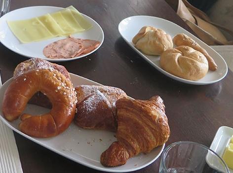 Frühstück Hannes Jagerhofer