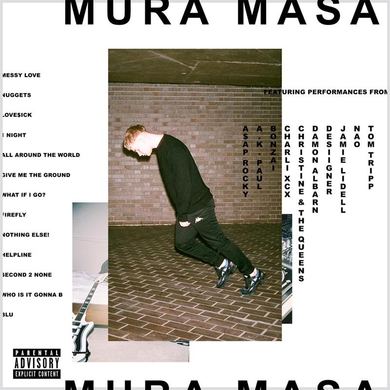 Mura Masa Albumcover