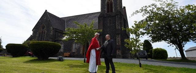 Irland Katholischer Priester und Protestantischer Minister