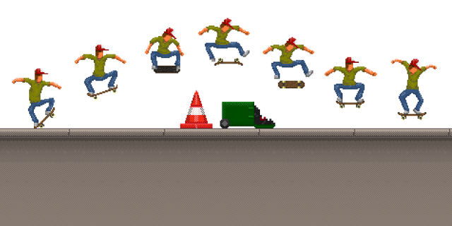 "Tricks in ""OlliOlli"""