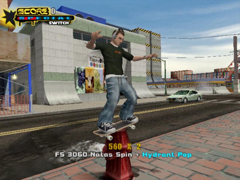 """Tony Hawk's Underground 2"" (PS2, 2004)"