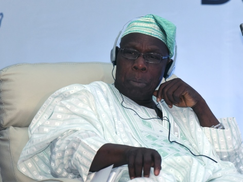 Nigerias Ex-Präsident Olusegun Obasanjo