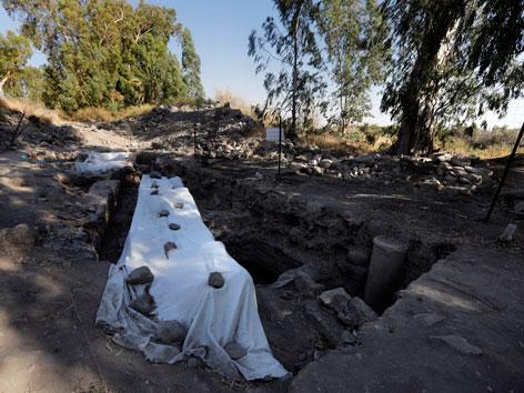 Möglicherweise Ausgrabung der Stadt Julias in Israel. Vielleicht der Geburtsort des Apostels Petrus.