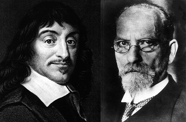 René Descartes und Edmund Husserl