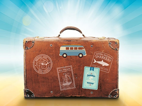 Koffer Sommer