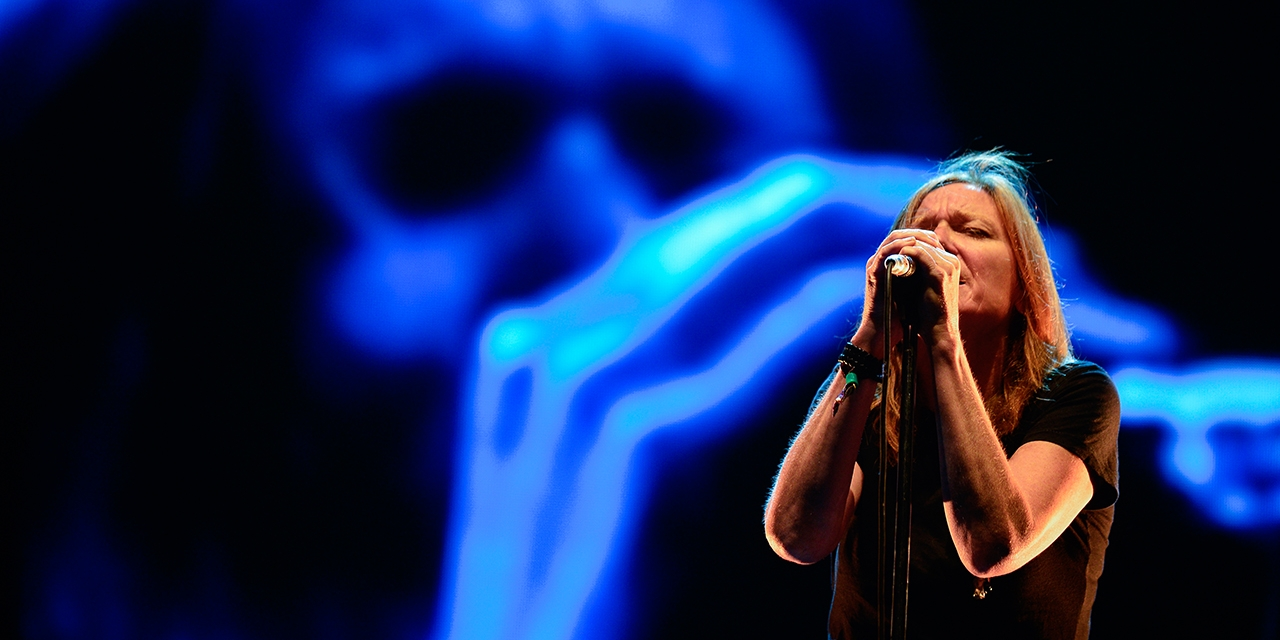 Portishead live am Benicassim in Barcelona