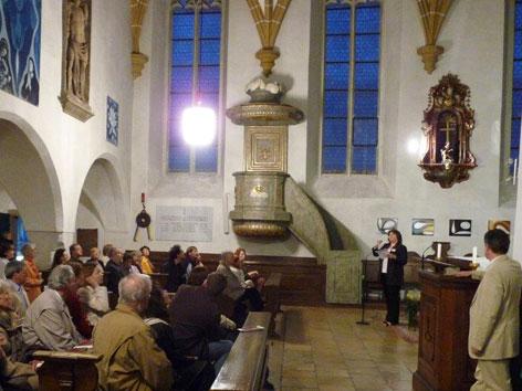 im Inneren der altkatholischen St. Salvator-Kapelle