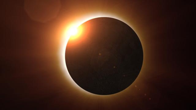 Total Eclipse: Bei einer totalen Sonnefinsternis erscheint die Sonne als dunkle Scheibe mit Strahlenkranz