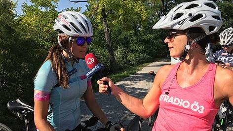 Julia Dujmovits und Sandra König
