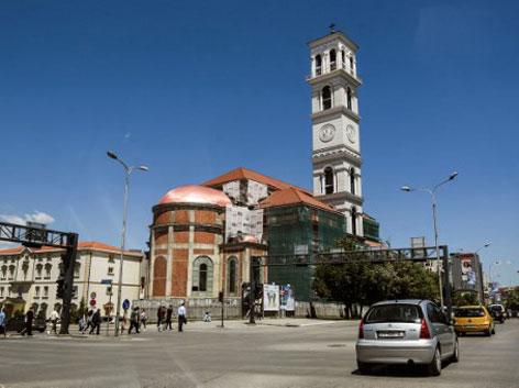 Mutter-Teresa-Kathedrale in Pristina, Kosovo