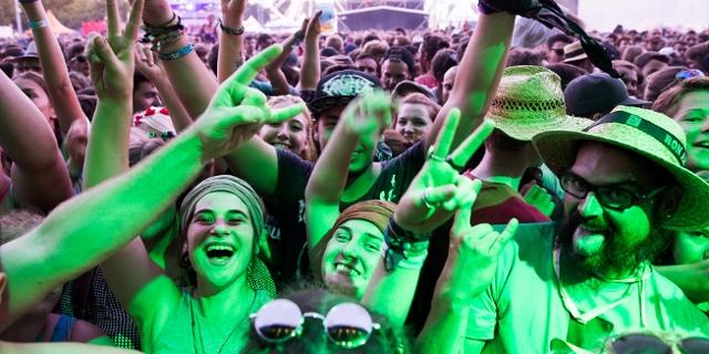 Publikum bei The Offspring