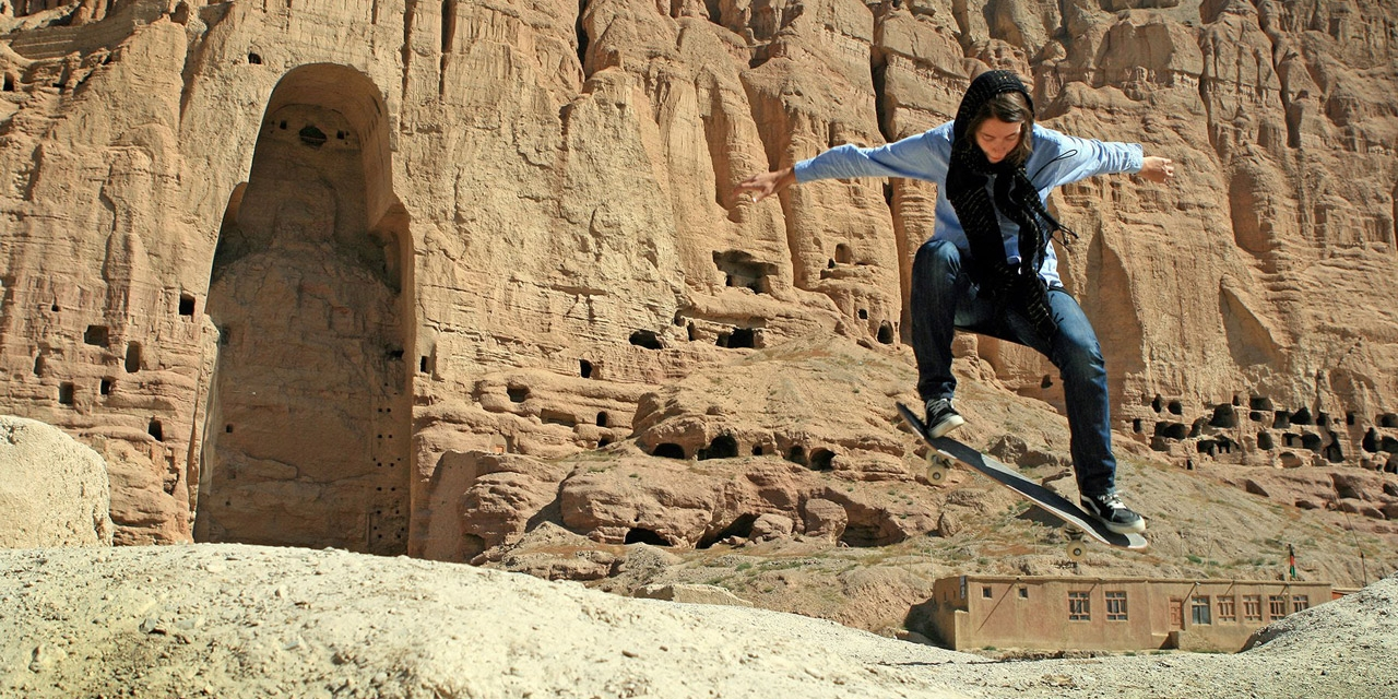 Skateboarden in Afghanistan
