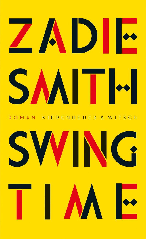"""Buchcover von Zadie Smiths """"Swing Time"""""""