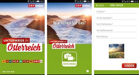 Unterwegs-App