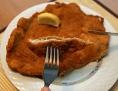 Wiener Schnitzel auf dem Teller
