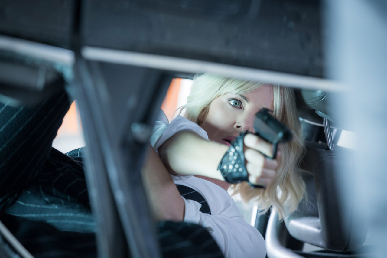 """Charlize Theron in """"Atomic Blonde"""""""