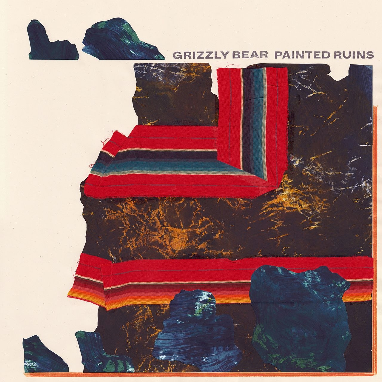 Grizzly Bear Cover 'Painted Ruins'