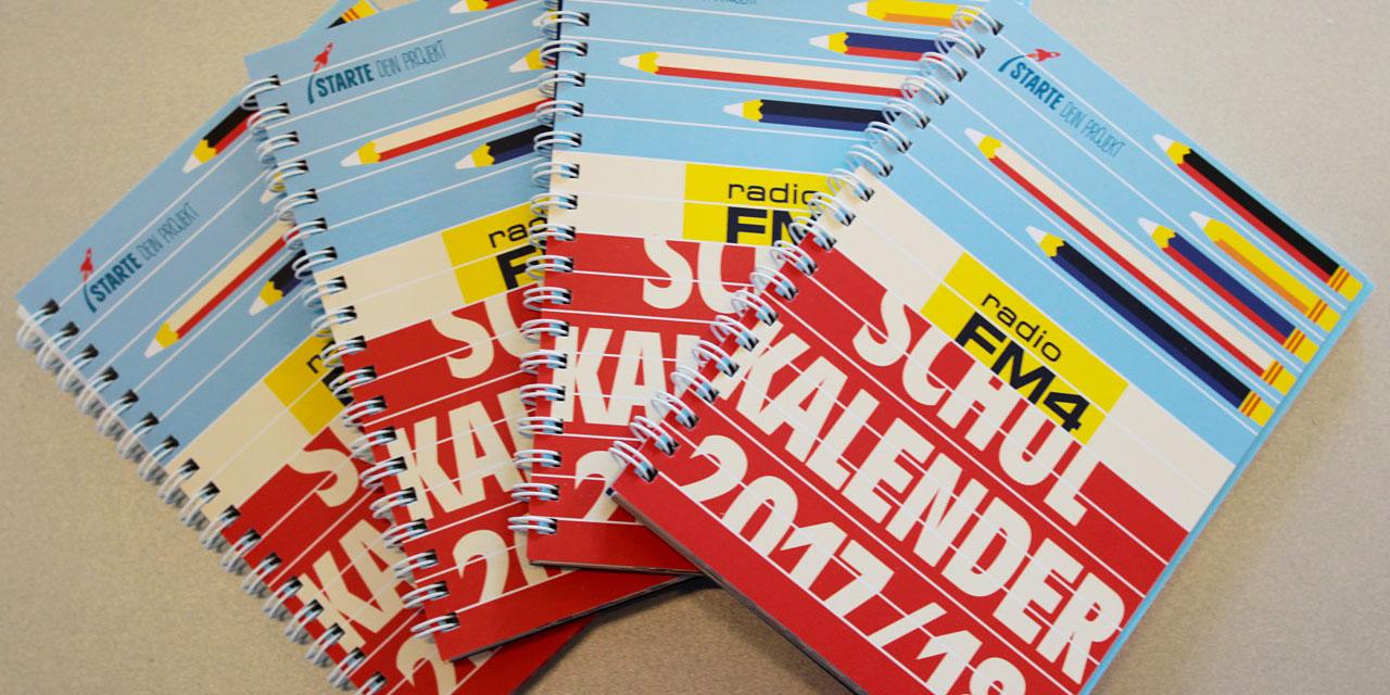 Cover des Schulkalenders