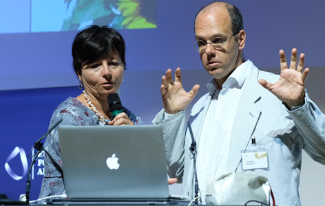Der Quantenphysiker Tommaso Calarco bei den Alpbacher Technologiegesprächen 2017
