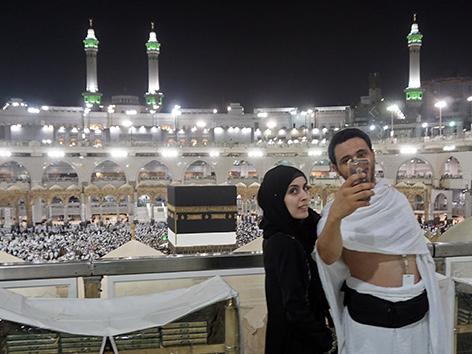 Mekka: Pilger beim Hadsch