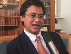 Porträtfoto des Historikers Rana Mitter