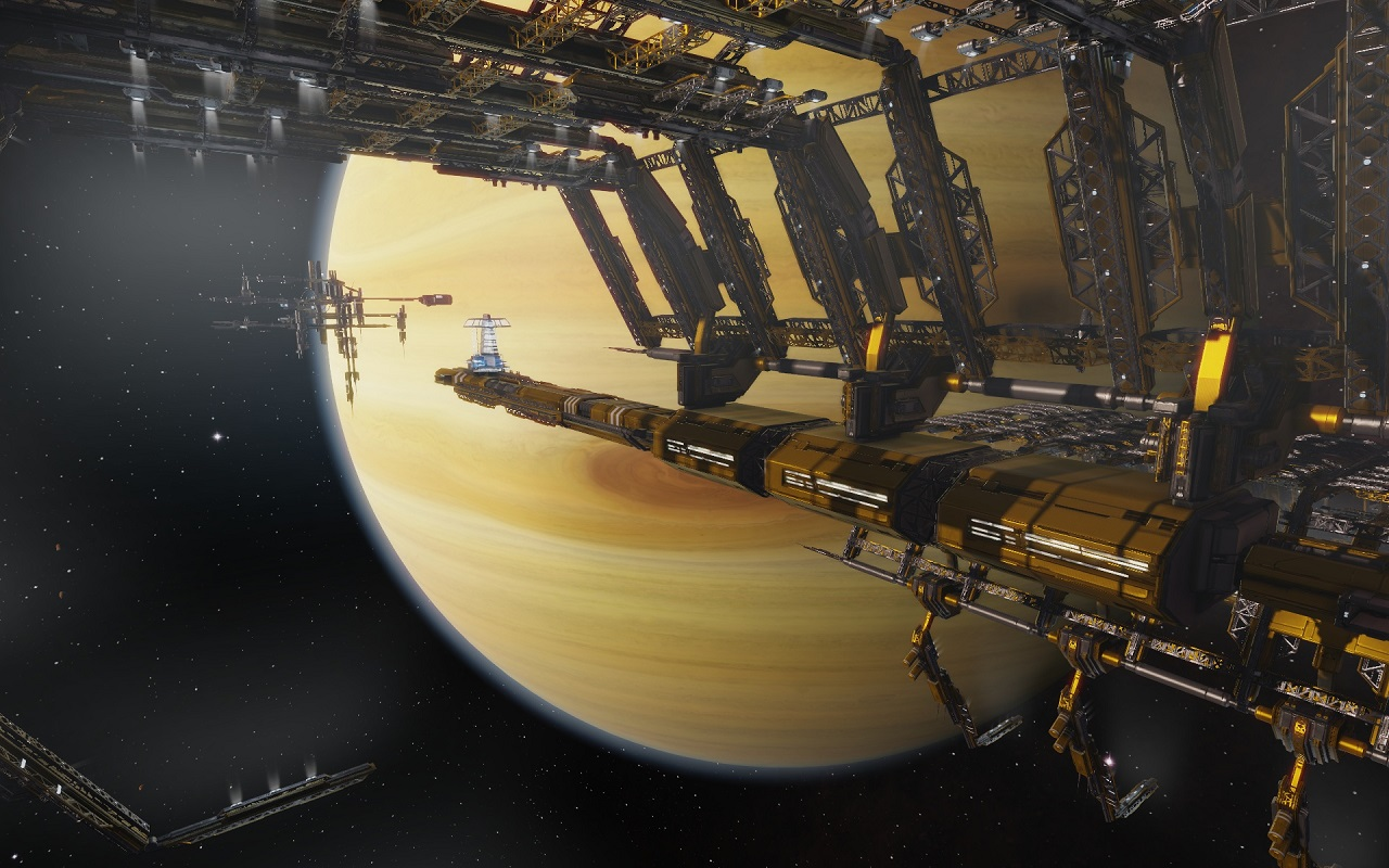 Struktur im Weltraum
