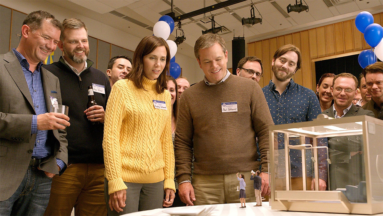 "Kristen Wiig und Matt Damon in ""Downsizing"""
