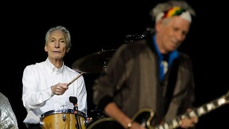 Charlie Watts und Keith Richards von den Rolling Stones