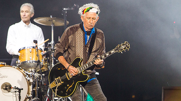 Keith Richards von den Rolling Stones