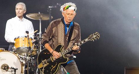 Keith Richards von den Rolling Stones