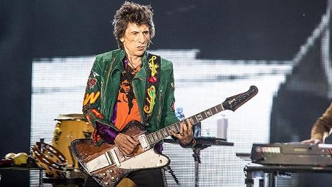 Ronnie Wood von den Rolling Stones