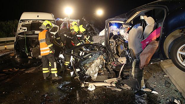 Geisterfahrer-Unfall