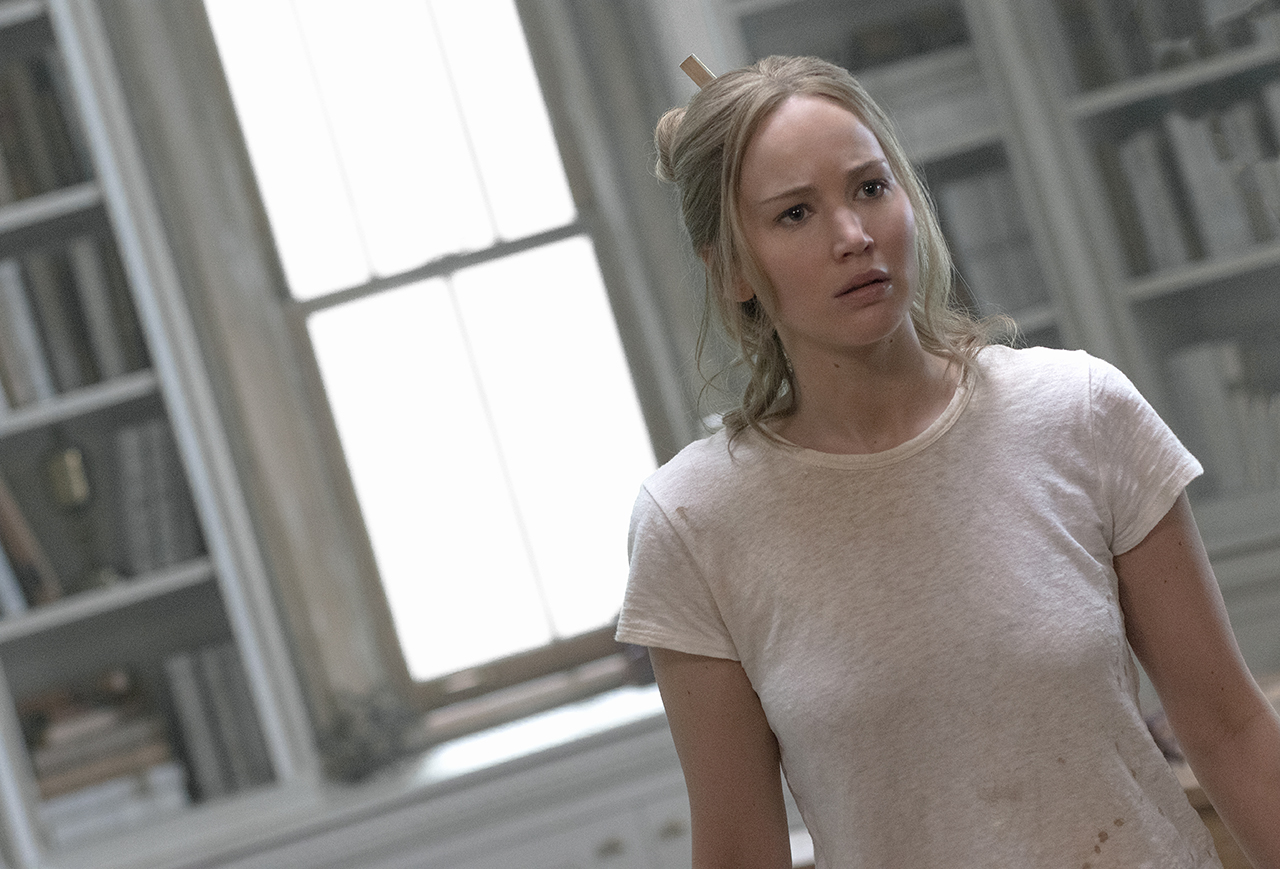 "Jennifer LAwrence in ""Mother"""