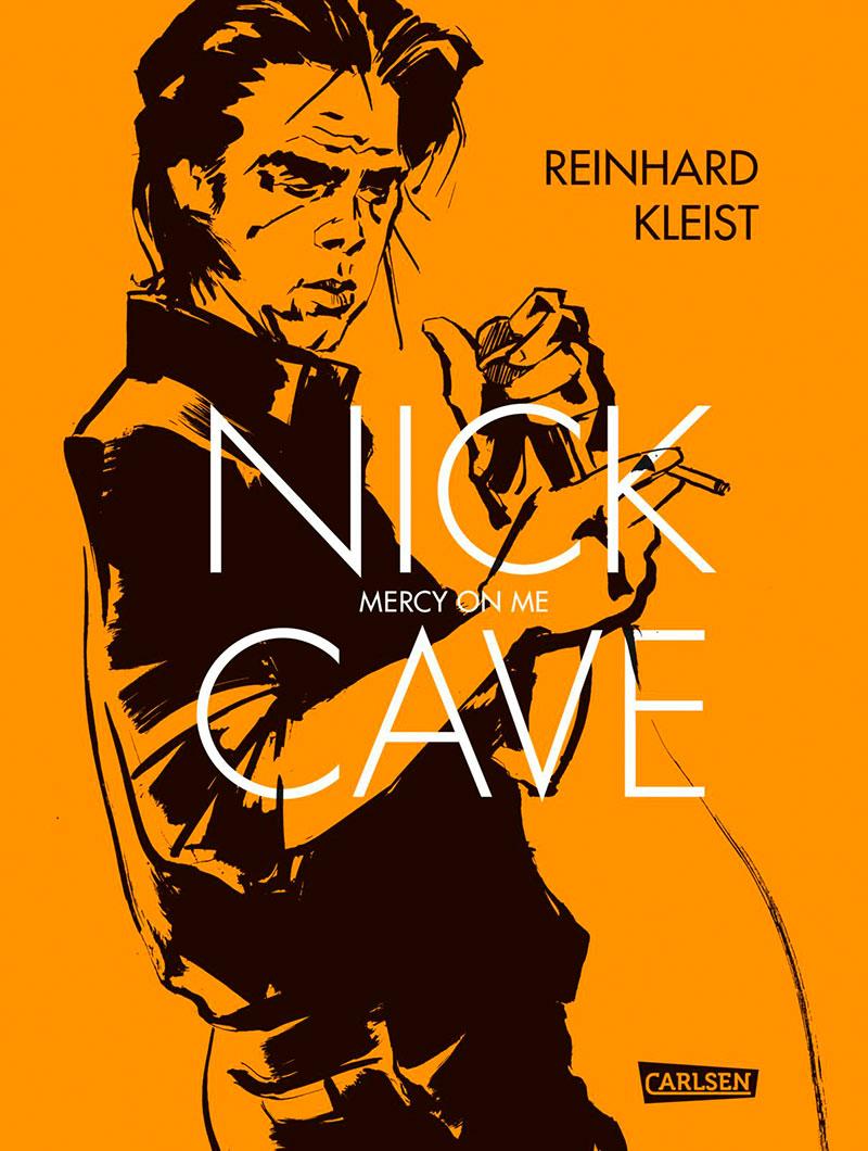 "Comic ""Nick Cave, Mercy on me"""
