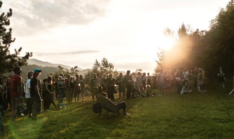 Publikum am Pealfestival