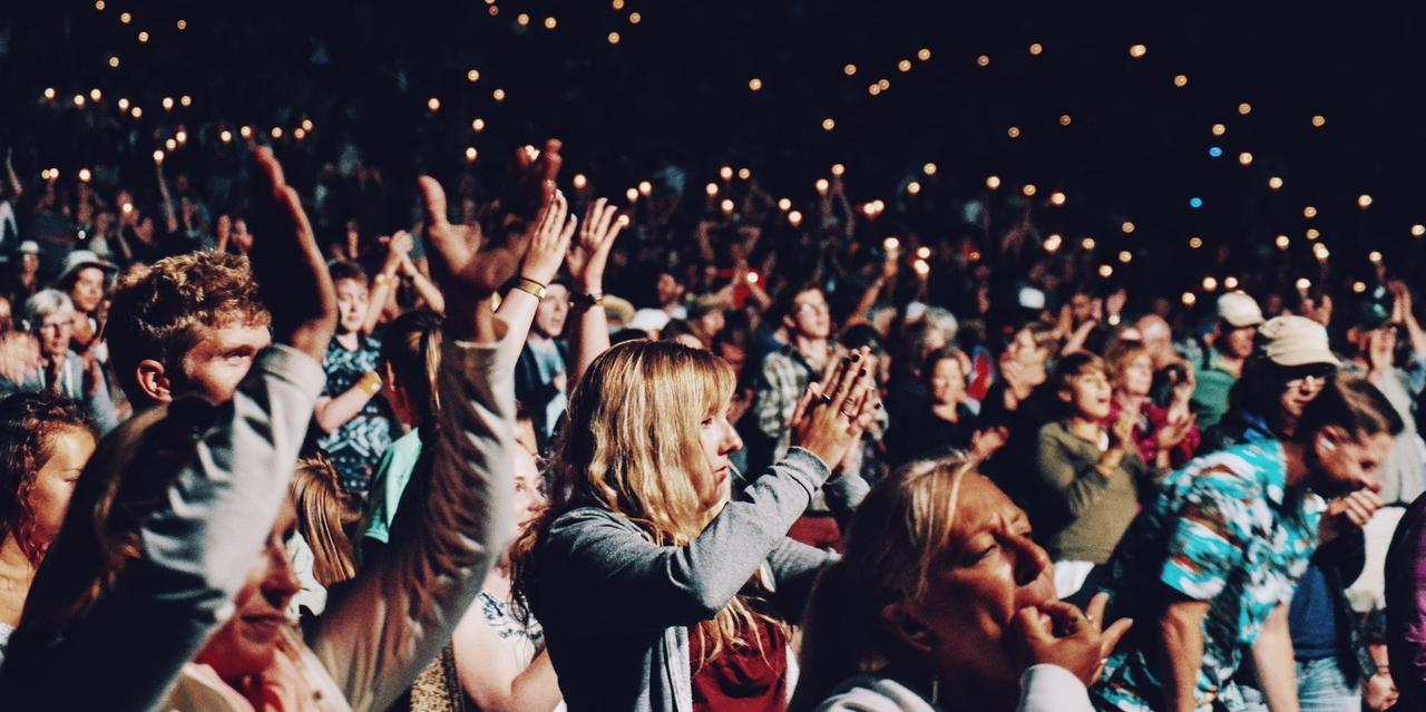 Applaudierendes Publikum