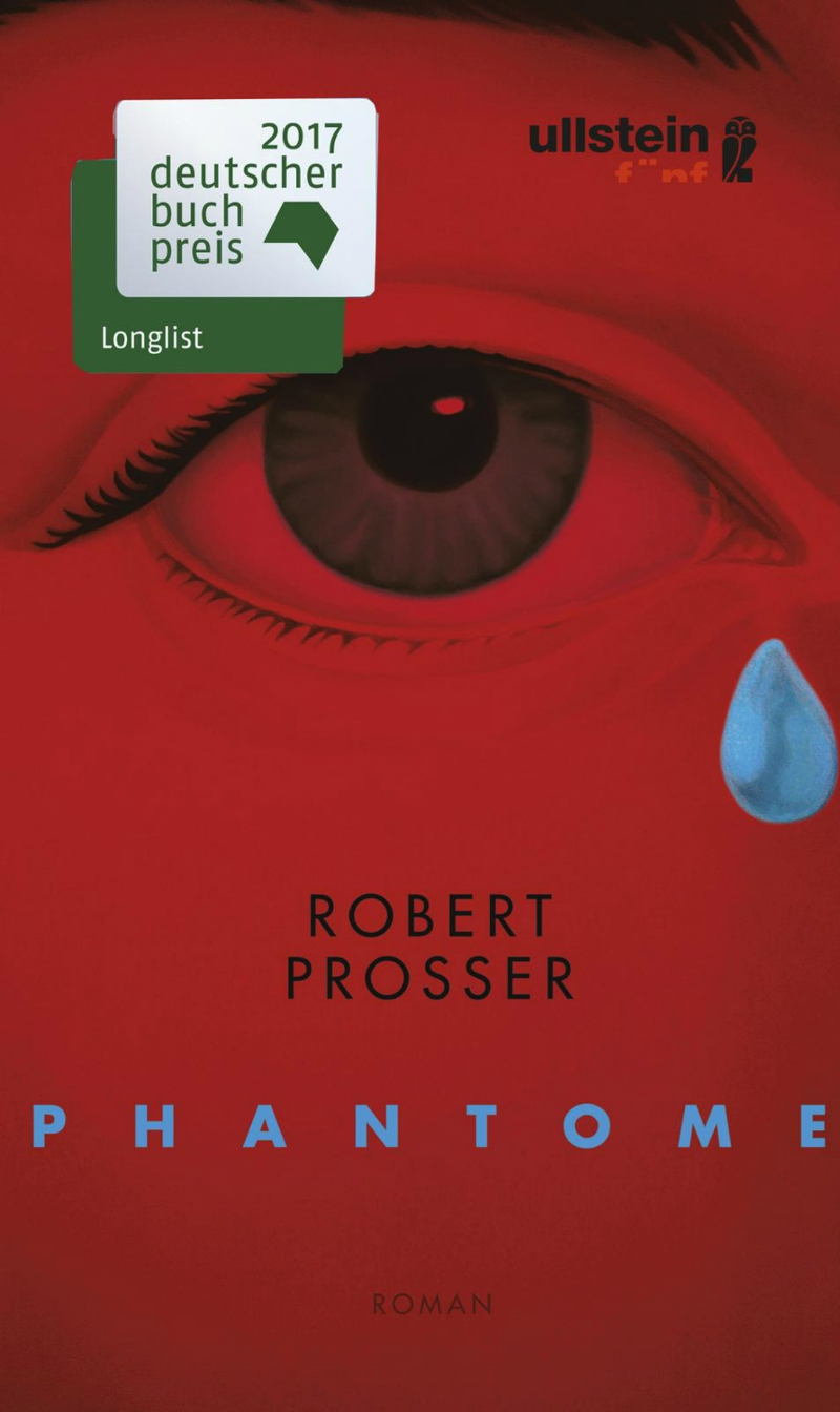 Cover Phantome von Robert Prosser