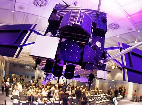 Modell der Raumsonde Rosetta