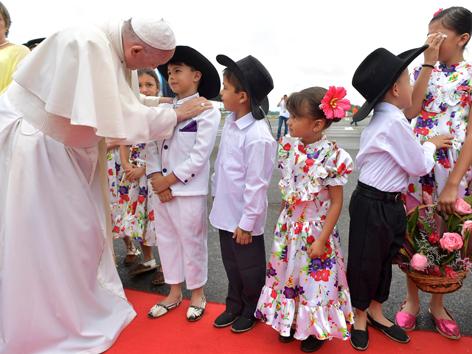 Papst Kolumbien Catama