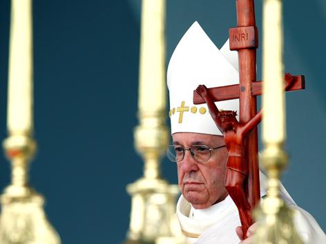 Papst Messe Kolumbien Villavicencio