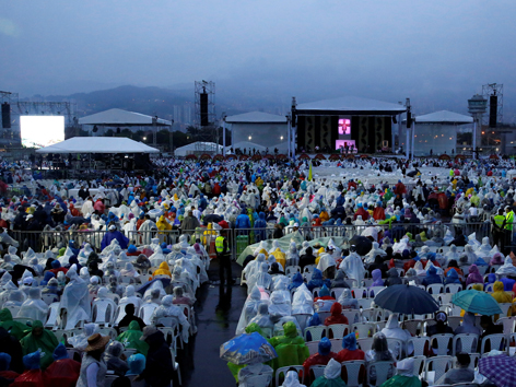 Papstmesse Medellin