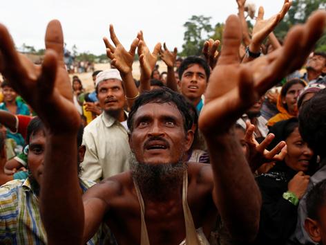 Rohingya Myanmar Waffenruhe