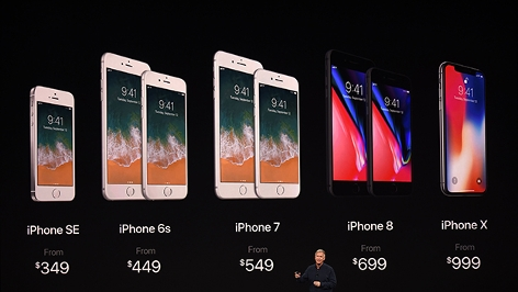 Apple stellt Jubiläums-iPhone X vor
