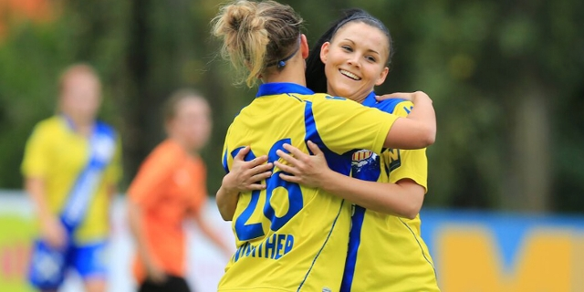 Fussball Match Frauen SKN St.Pölten versus FC Südburgenland