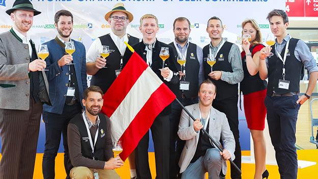 Oberösterreichischer Biersommelier wurde Vize-Weltmeister